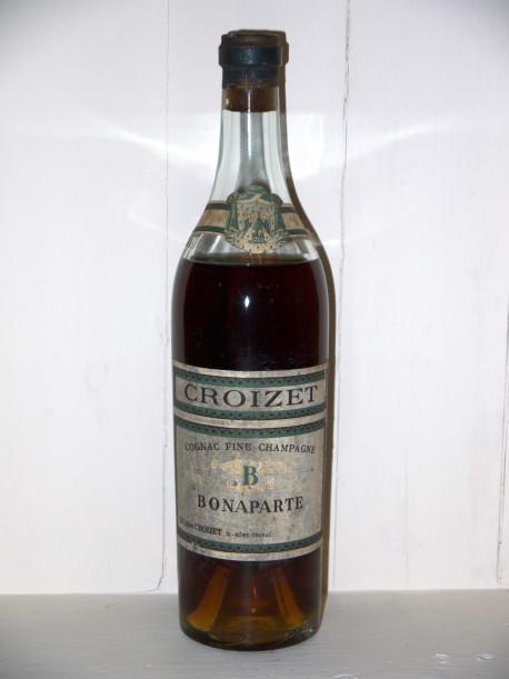Cognac Fine Champagne Bonaparte Croizet présumé des années 1900