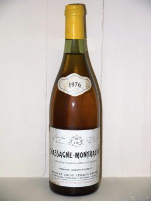 Grands crus Autres appellations de Bourgogne Chassagne Montrachet 1976 Domaine Lequin-Roussot