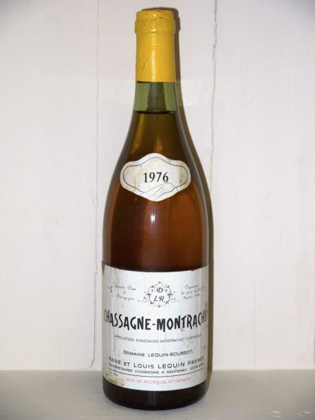 Chassagne Montrachet 1976 Domaine Lequin-Roussot