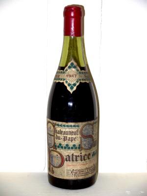Chateauneuf Du Pape 1947 Saint Patrice Antonin Establet