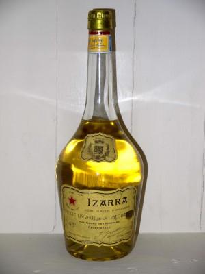 Liqueur de collection Izarra jaune années 50