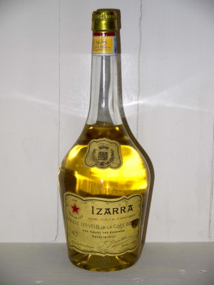 Liquor de collection  Izarra jaune années 50