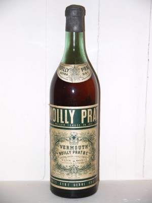 Vermouth millesime Vermouth Noilly Prat Extra Dry Années 1950