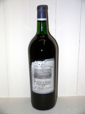 Grands vins Saint-Émilion Magnum Clos du Clocher 1967