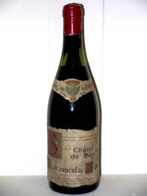 """Chateauneuf Du Pape """"Chatel Du Roy"""" 1933 Cave Du Val Clos"""