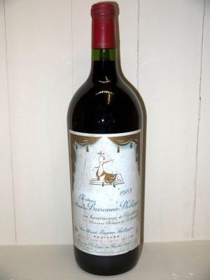 Grands vins Pessac-Léognan - Graves Magnum Château d'Armailhac 1983 Château Mouton Baronne Philippe