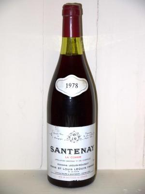 """Santenay """"La Comme"""" 1978 Domaine Lequin-Roussot"""