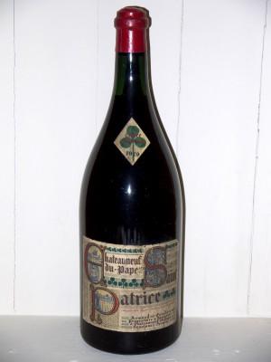 Vins de collection Châteauneuf du Pape Magnum Chateauneuf Du Pape 1929 Armand Establet
