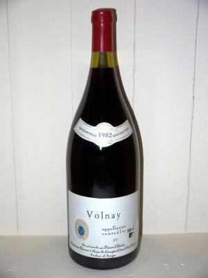 Vins anciens Volnay Magnum Volnay 1982 Pierre Olivier