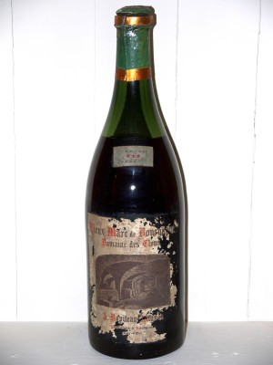 Grand Eau de Vie Magnum de Vieux Marc de Bourgogne Domaine des Clous Années 1920/1930