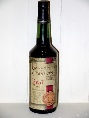 Banyuls Grand Cru 1962 Brut