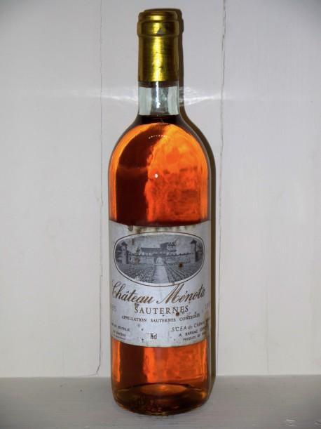 Château Ménota 1985 Sauternes