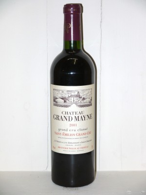 Grands crus Saint-Julien Château Grand Mayne 2001