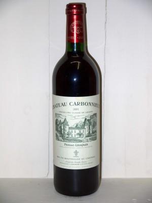 Grands crus Pauillac Château Carbonnieux 2001