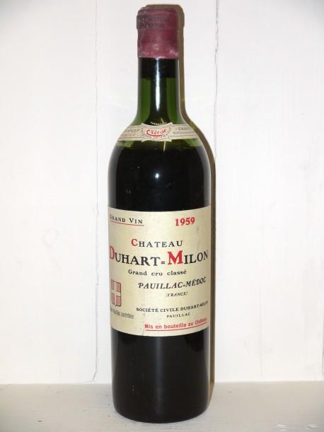 Château Duhart Milon Rothschild 1959