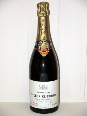 Grands crus de Champagne Champagne Victor Clicquot 1955 Extra Quality Vintage