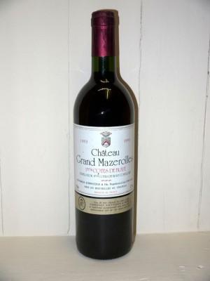 Grands vins Autres appellations de Bordeaux Château Grand Mazerolles 1993
