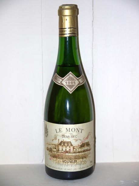 Le Mont 1985 Demi-Sec Domaine Huet