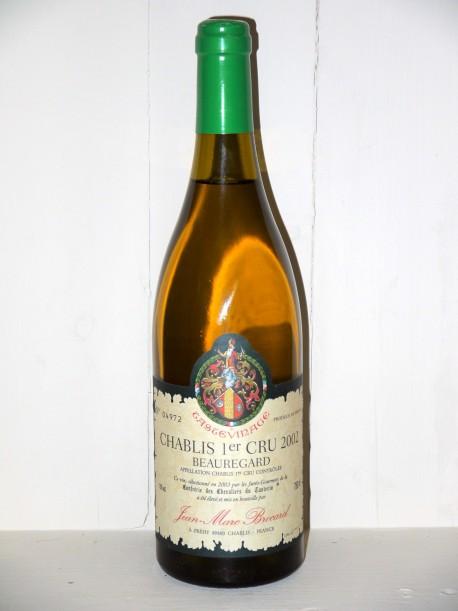 Chablis 1er Cru 2002 Beauregard Domaine Brocard