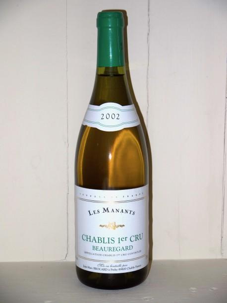 Chablis 1er Cru Beauregard 2002 Les Manants Domaine Brocard