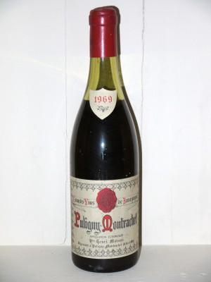 Grands crus Chassagne-Montrachet - Puligny-Montrachet Puligny-Montrachet 1969 Henri Moroni