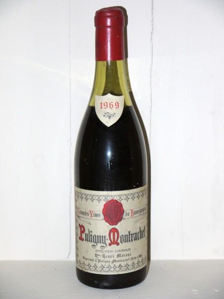 Puligny-Montrachet 1969 Henri Moroni