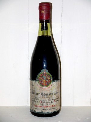 Vins anciens Beaune - Savigny-les-Beaune Beaune-Teurons 1959 Chanson Père et fils
