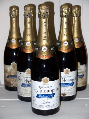 Grand Champagne Champagne Dry Monopole Rosé Brut 1966 Heidsieck & co