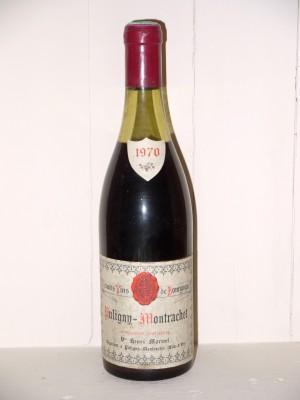 Puligny-Montrachet 1970 Henri Moroni