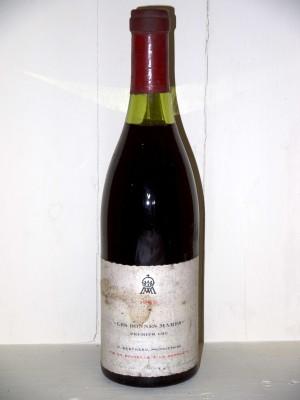 Millesime prestige Chambolle-Musigny Bonnes Mares 1969 Domaine P. Bertheau