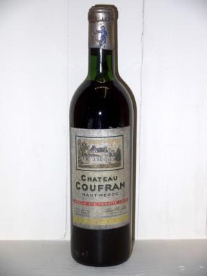 Vins de collection Haut-Médoc Château Coufran 1966