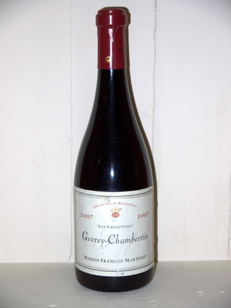 "Gevrey-Chambertin 2007 ""les griottines"" Maison François Martenot"