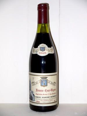 Beaune Cent-Vignes 1986 Domaine Besancenot-Mathouillet