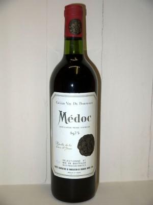 Grands vins Saint-Émilion Recolte de la Cave Saint Jean Médoc 1975