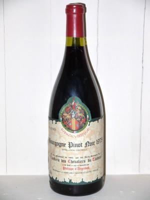 Magnum Bourgogne Pinot Noir 1978 Tastevinage Maison Philippe d''Argenval