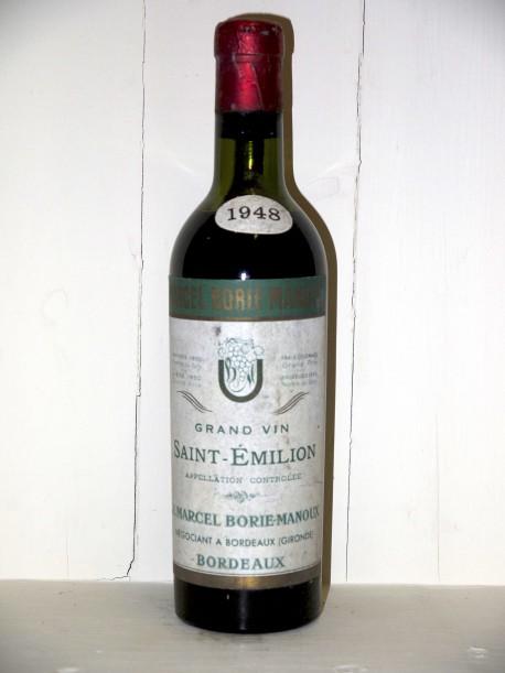 Saint-Émilion 1948 J. Marcel Borie-Manoux