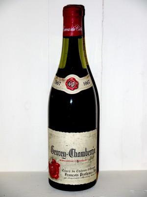 Vins grands crus Gevrey-Chambertin Gevrey-chambertin 1967 Domaine François Protheau