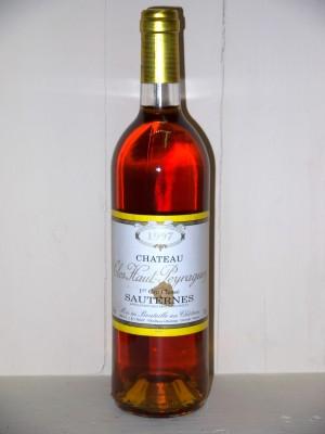 Château Clos Haut-Peyraguey 1997