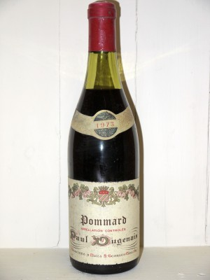 Vins de collection Pommard Pommard 1973 Paul Dugenais
