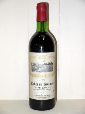 Vins de collection Pomerol - Lalande de Pomerol Château Gouprie 1973
