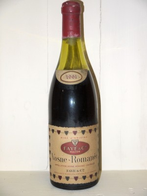 Vosne Romanée 1961 Faye & Cie