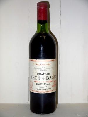Château Lynch Bâges 1975