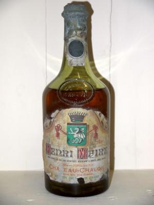 Vins anciens Jura Château Chalon 1961 Henri Maire