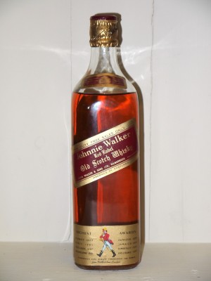 Whisky millesime Johny Walker Red Label Années 50/60