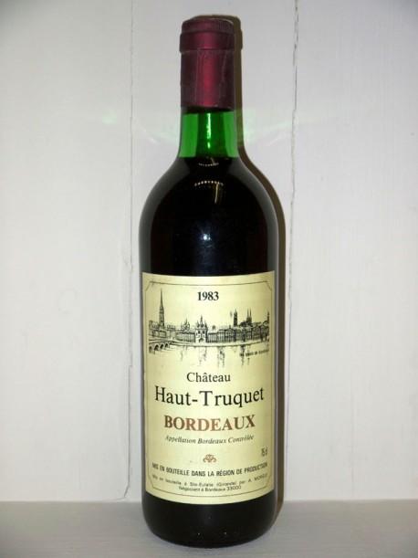 Château Haut Truquet 1983