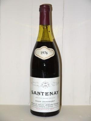 Santenay 1976 Domaine Lequin-Roussot