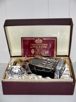 Prince Hubert de Polignac Fine Champagne en Coffret Années 70/80