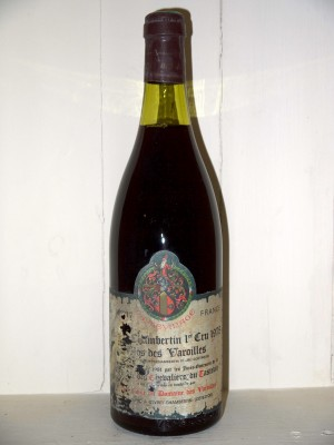 "Grands crus Gevrey-Chambertin Gevrey-Chambertin 1er cru 1978 ""Clos des Varoilles"""