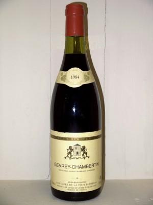 Gevrey-Chambertin 1984 les caves de la Tour Blondeau