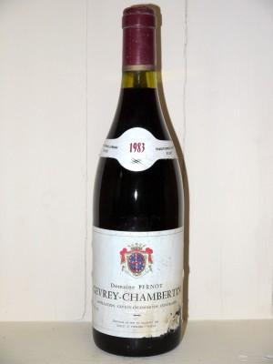 Vins anciens Bourgogne Gevrey-Chambertin 1983 Domaine Pernot